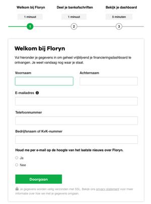 Financieel dashboard aanvragen bij Floryn in 3 stappen