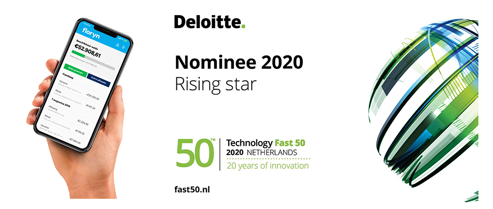 Floryn is genomineerd voor de Deloitte Technology Fast 50 award